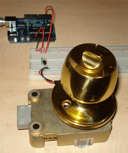 Very Simple Arduino Electric Lock
