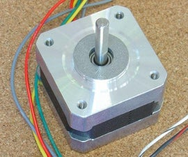 Stepper Speed Control Menu Driven for Arduino