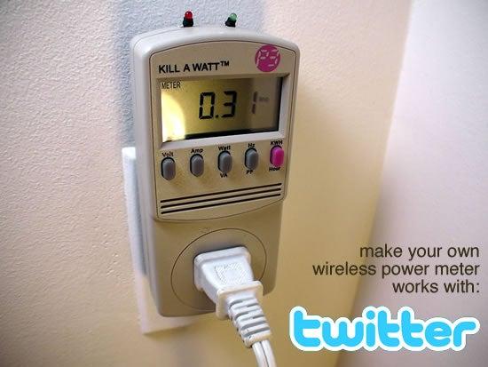 Tweet-a-watt - How to Make a Twittering Power Meter...