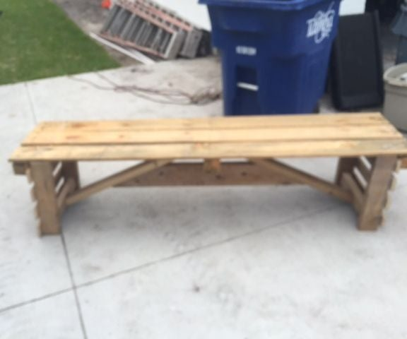 Pallet Bench From Scratch