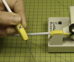 How to Make a Solder Buddy (from Sheet Plastic)