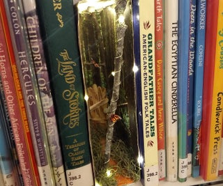 Hot Chocolate Box Fairy Forest Book Nook