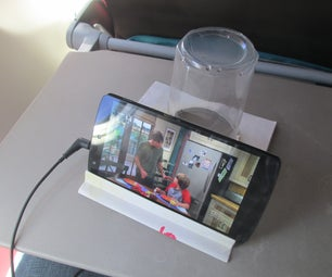 DIY Phone Stand - Made on Board Flight