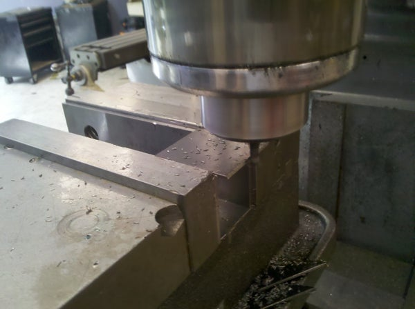 Cut Pieces to Exact Length on a Vertical Mill