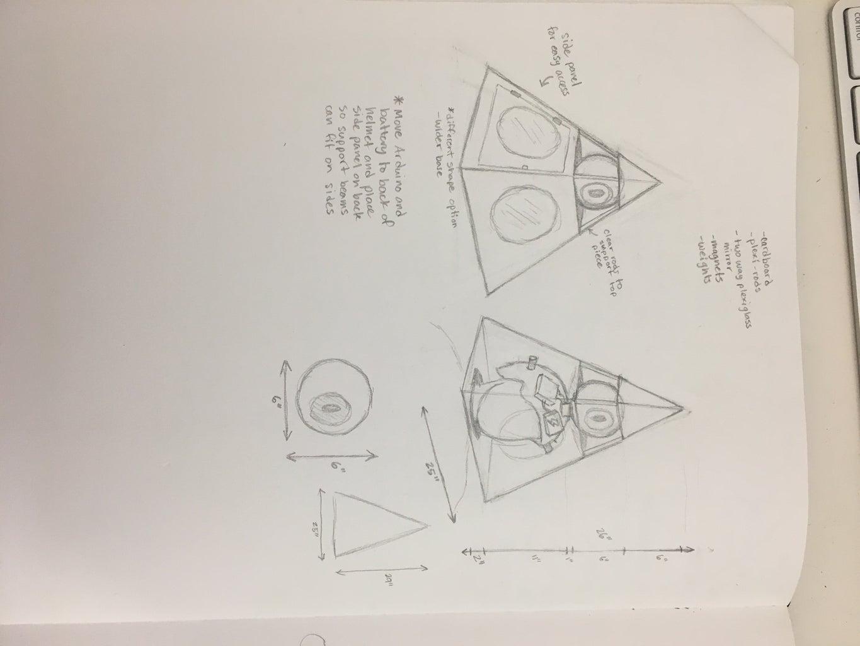 Illuminati Headdress
