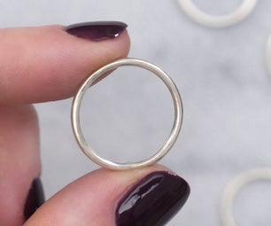 Simple Silver Ring (Torch Soldering)