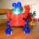 Reinventing your free Innoventions 'Fantastic Plastics Works' robot to glow