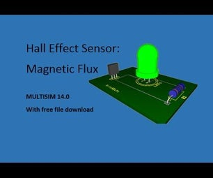 Hall Effect Sensor - NI Multisim
