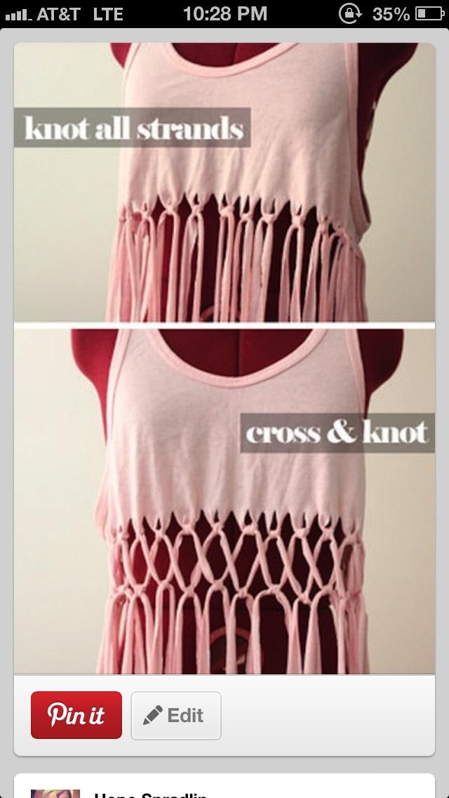Knotted Summer Shirt