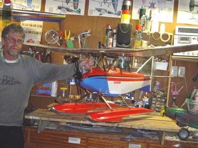 Polystyrene Model Airplane Design