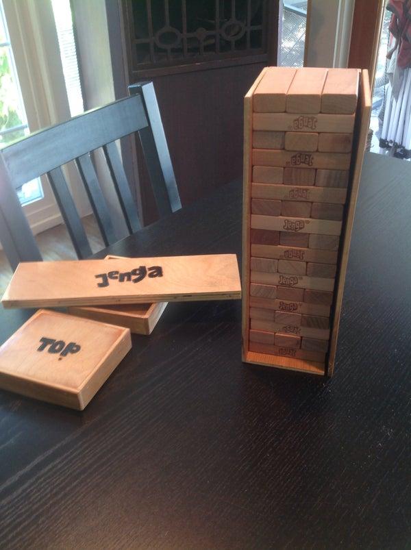 Jenga Box