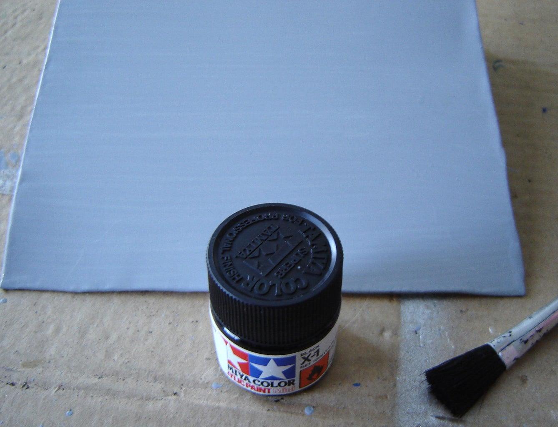 Painting the Metal Sheet