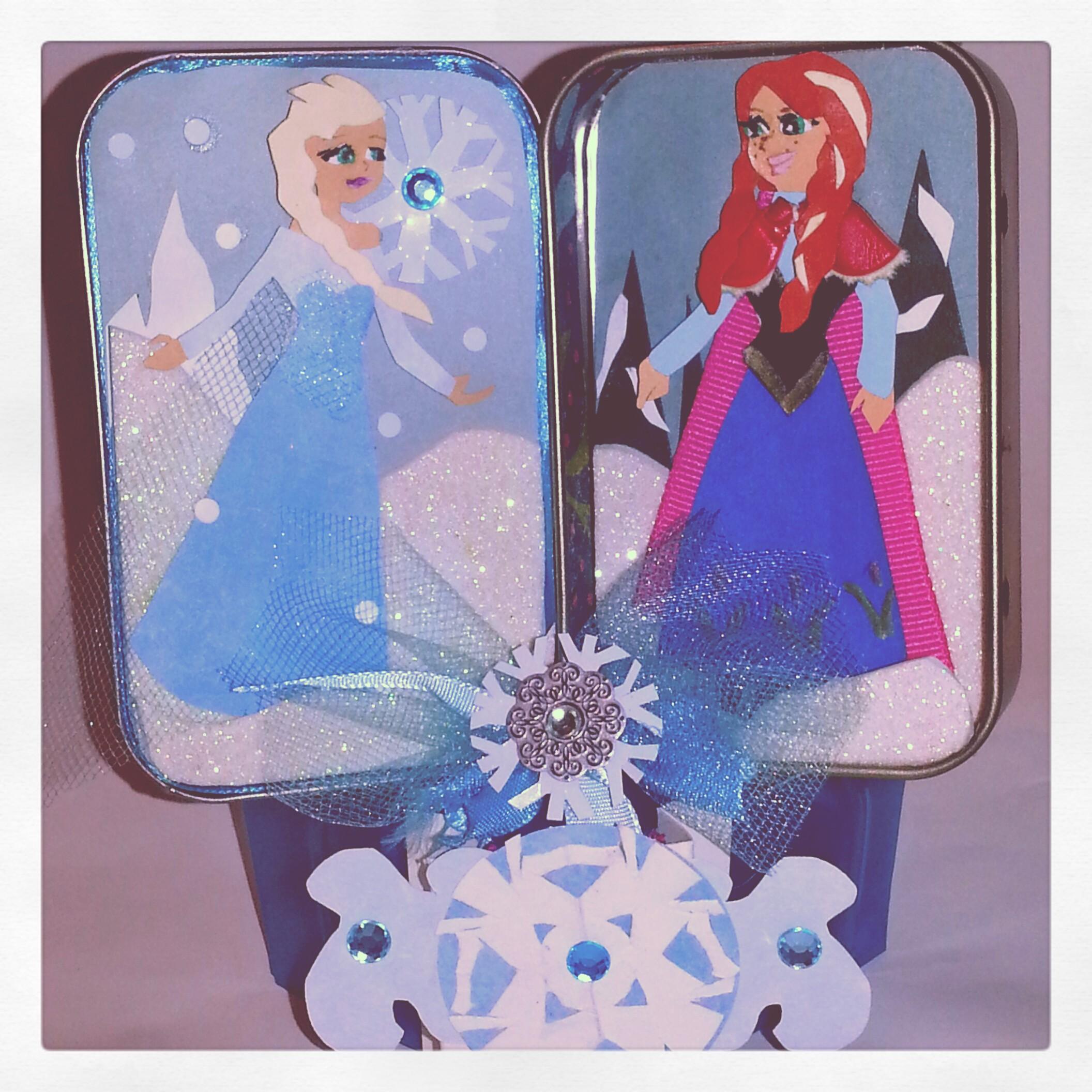 Frozen Character Altoid Tin Display