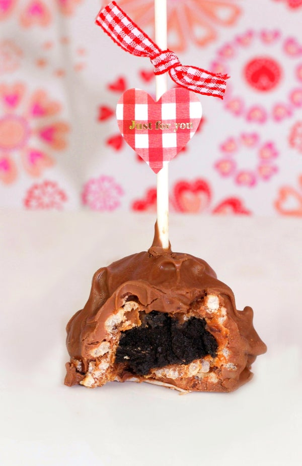 Caramel Candy Oreo Pops - Valentines for Him (or Her or Maybe Just Because)