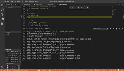 Add Debug Configuration to Visual Studio Code