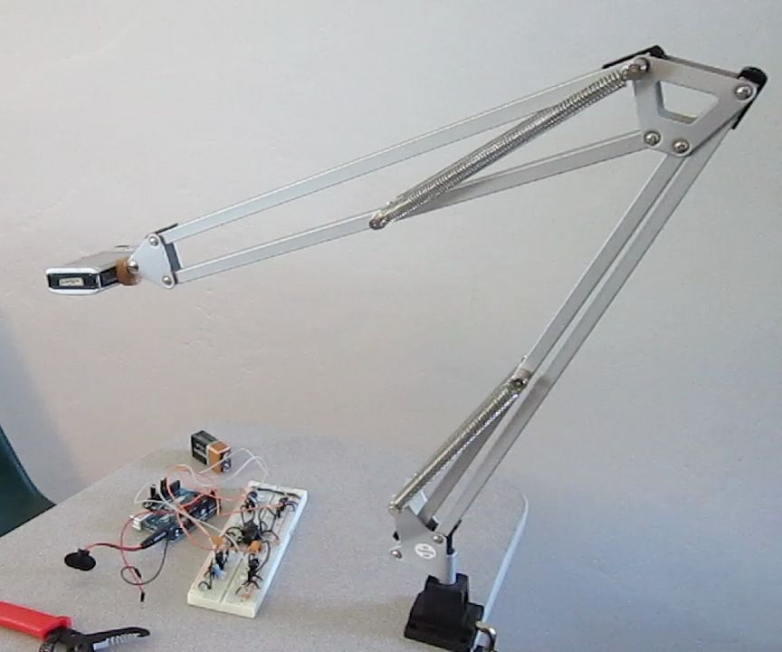 Ikea Hack: Articulating Camera Mount