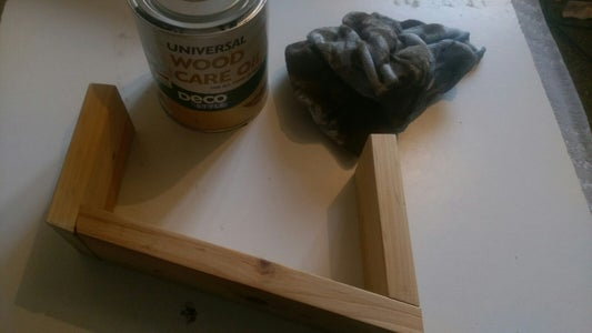 Step 4 - Gluing and Staining