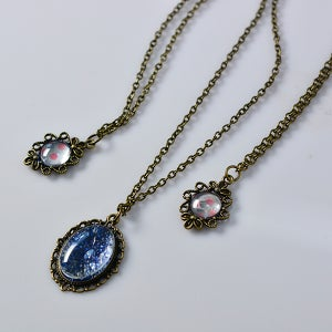Here Are the Final Look of These Vintage Necklaces: