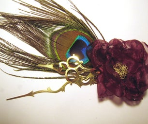 Simple and Awesome Steampunk Fascinator