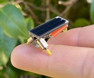 Tiny, Solar Powered, Light Seeking BEAM Bot (Mini Photopopper)