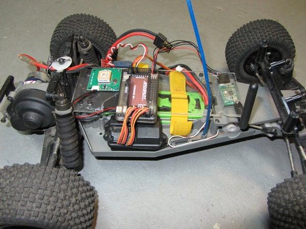 Autonomous Traxxas Rover Build