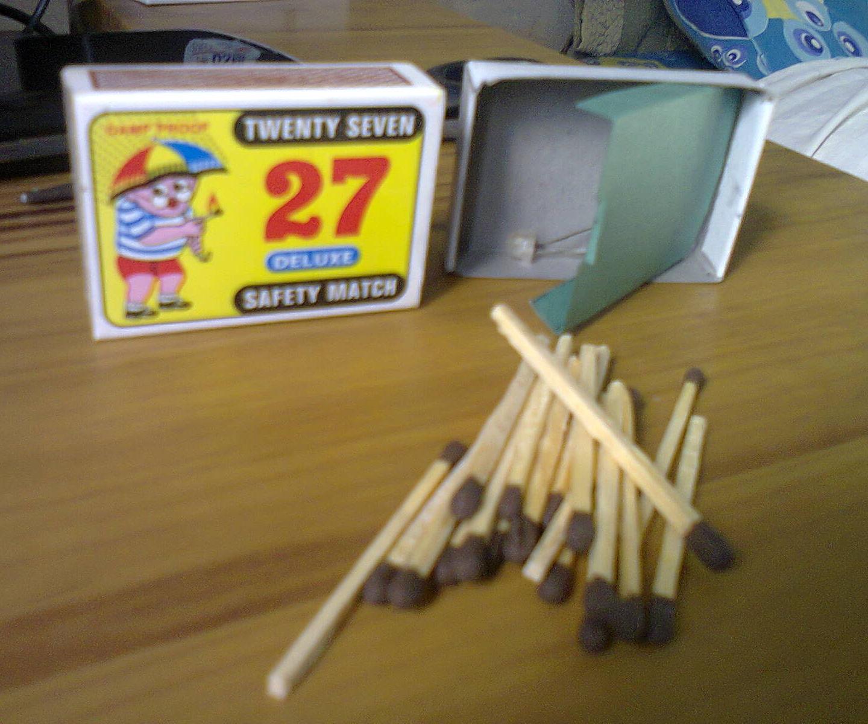 Matchbox Secret Compartment
