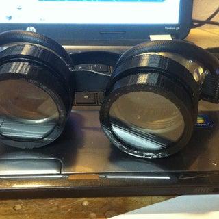 Steampunk Adjustable Tint Goggles