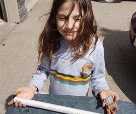 Katelin Makes a PVC Flute for School