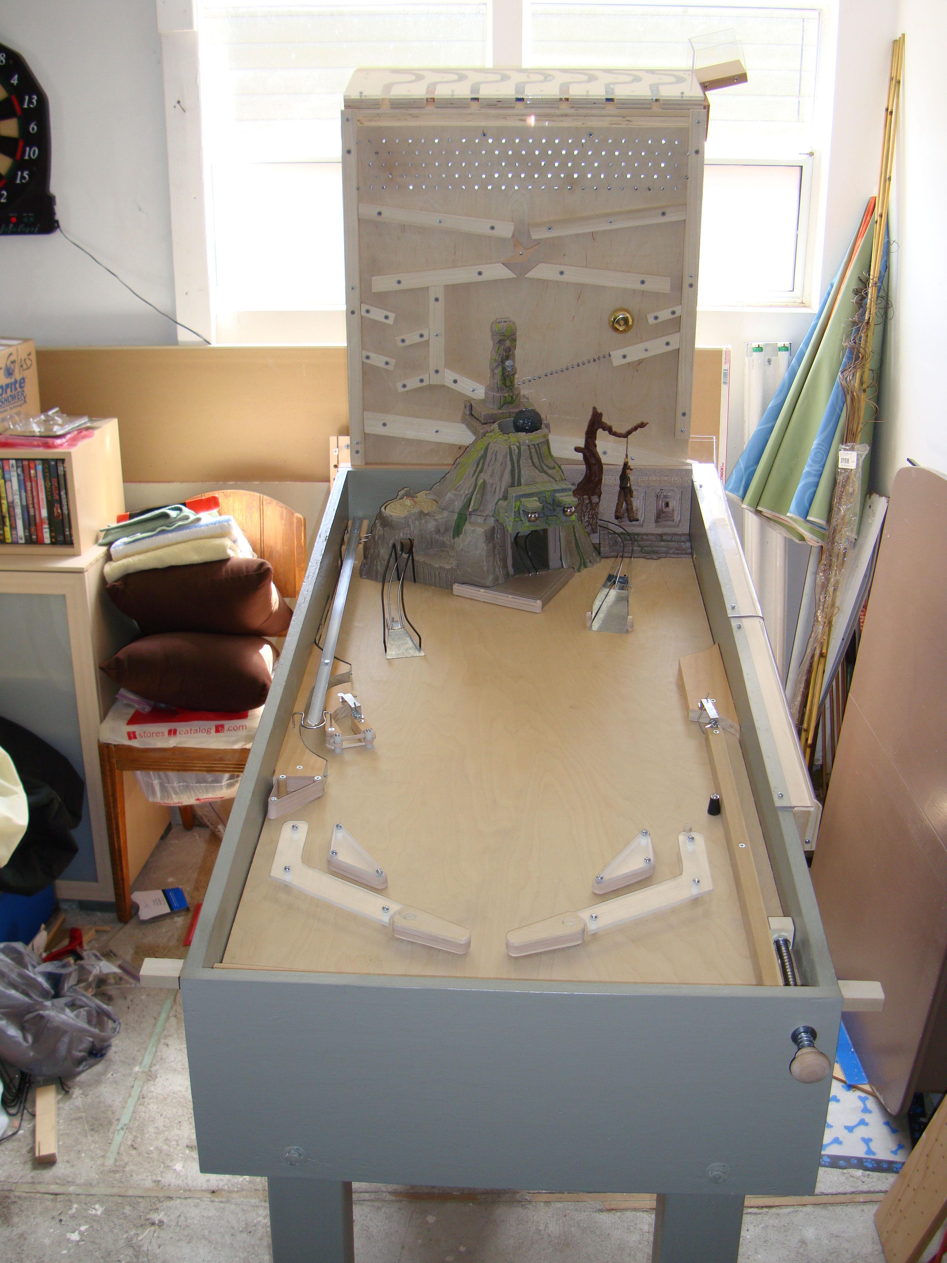 Homemade Indiana Jones Pinball Machine