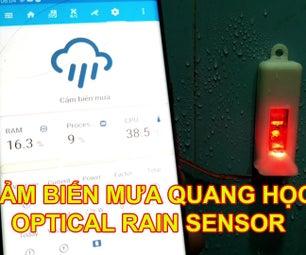 鼠标破损的光学雨量传感器