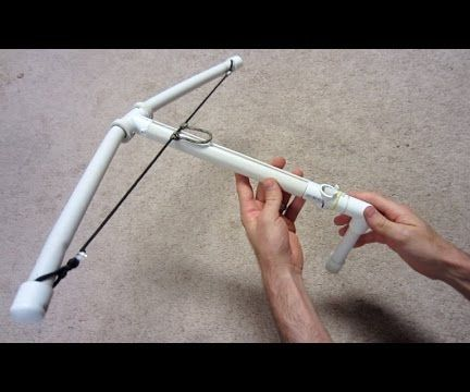 How to make a Crossbow - PVC Crossbow