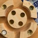Wooden Decoration:  Adventskranz