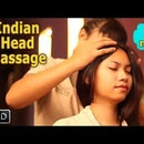 Indian Head Massage With Ayurvedic Oils - Head, Neck & Shoulder Massage for Relaxation