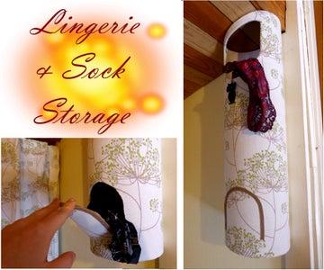 Lingerie / Sock Storage -no Sew
