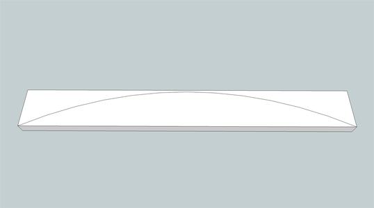 Front Curved Frame