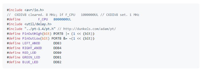 Programing. Macros and Definitions