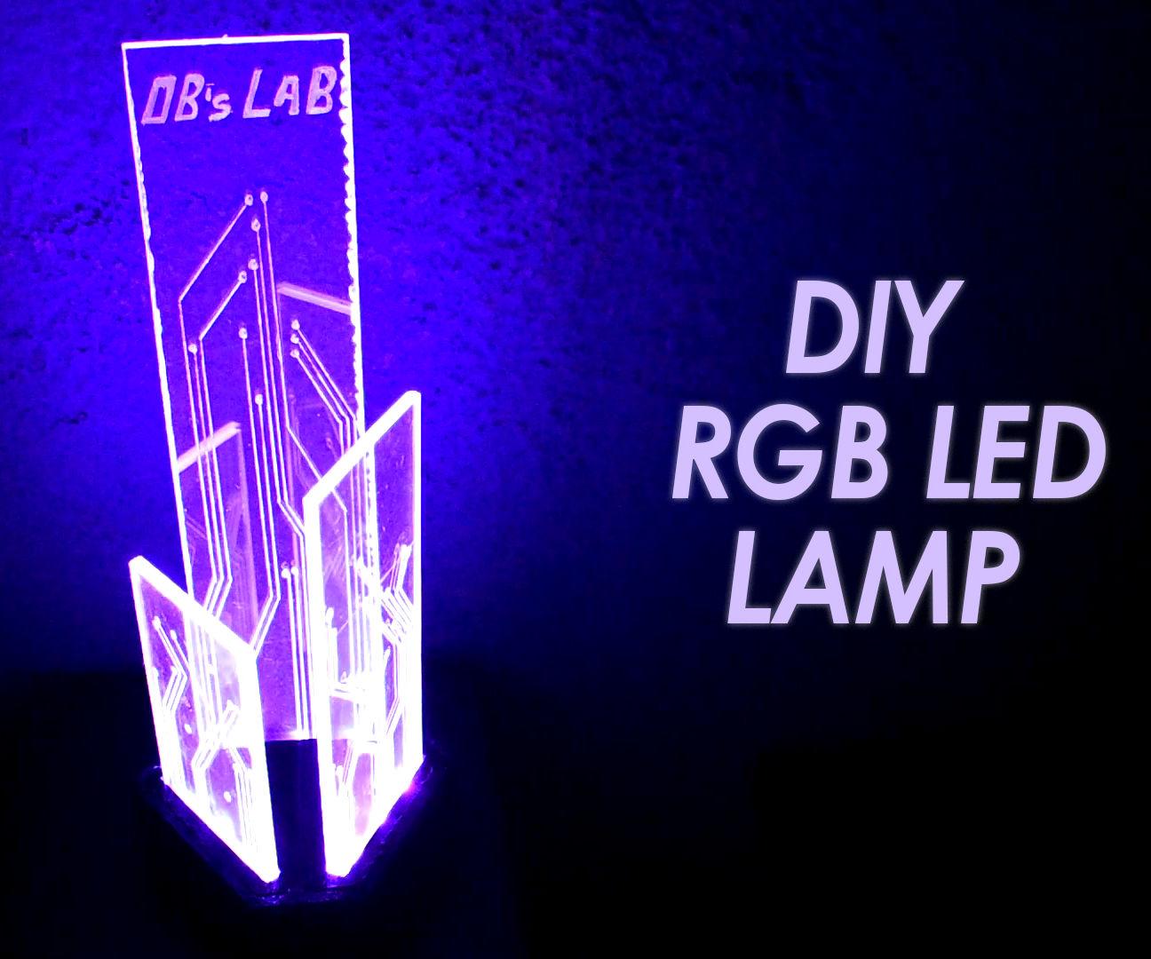 DIY RGB LED Lamp