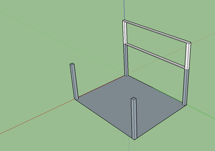 Adding the Remaining I-beams