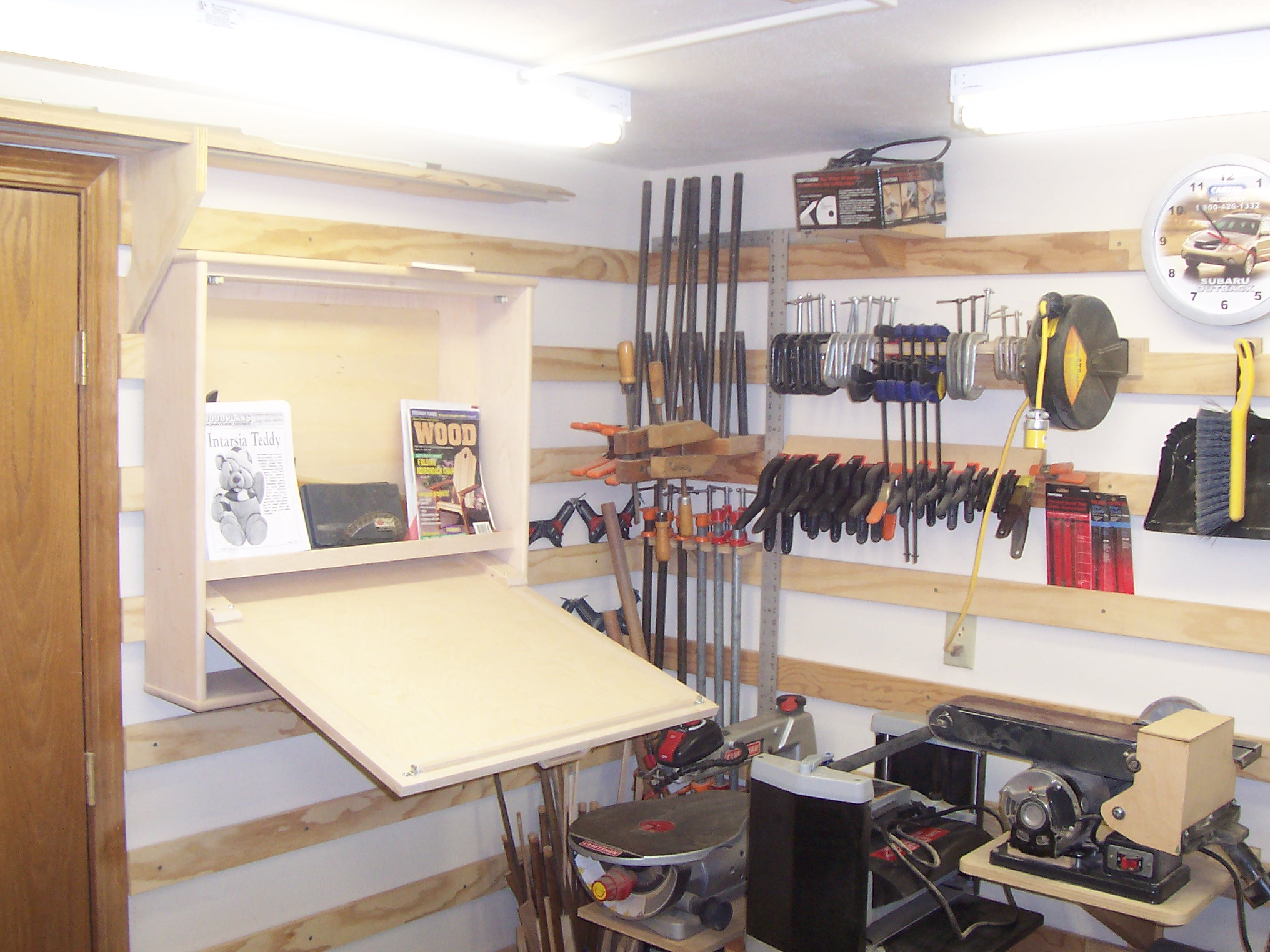 My 10 X 14 basement workshop