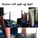 Futon bed pull up bar