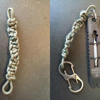 Paracord Key Chain Fob