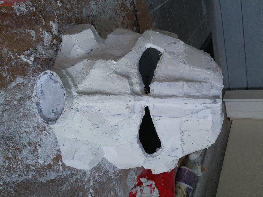 Step 2 : Resin,fiberglass and Putty