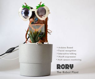 Rory the Robot Plant