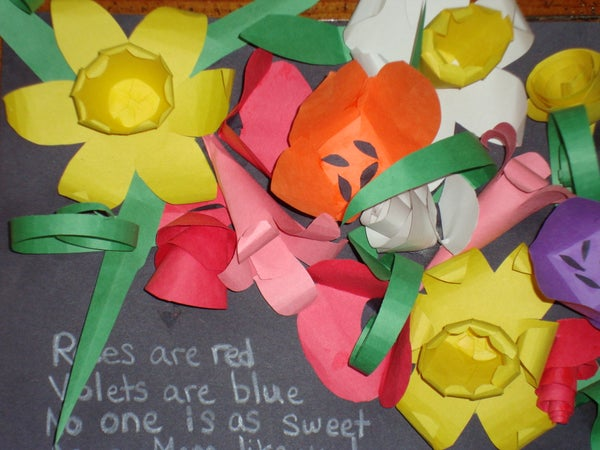 Papercraft Flowers (Easy)