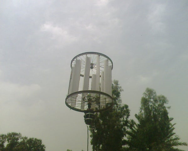 Vertical Wind Power