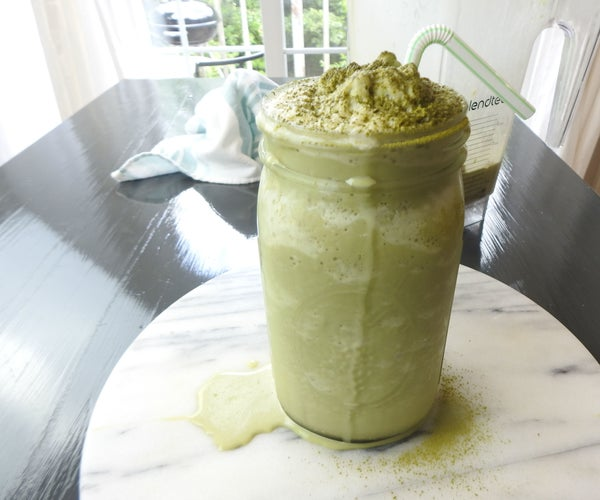 Starbucks Copycat Matcha Green Tea Frappuccino