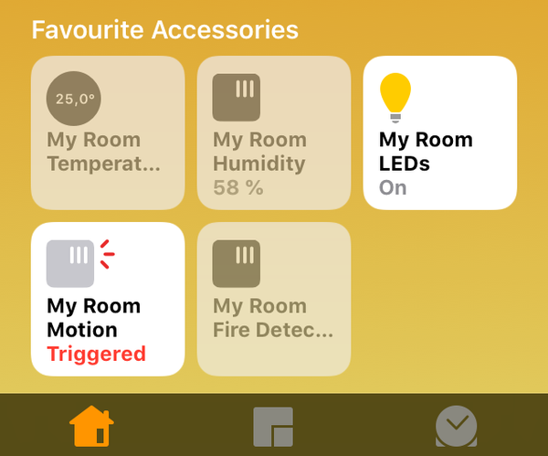 Self Made Smart Home With Apple HomeKit