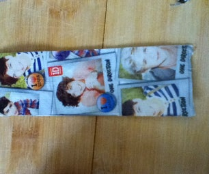 How to Make a Duct Tape Bookmark