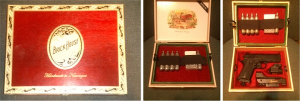"""Making an """"English Fit"""" Pistol Case Out of a Cigar Box"""