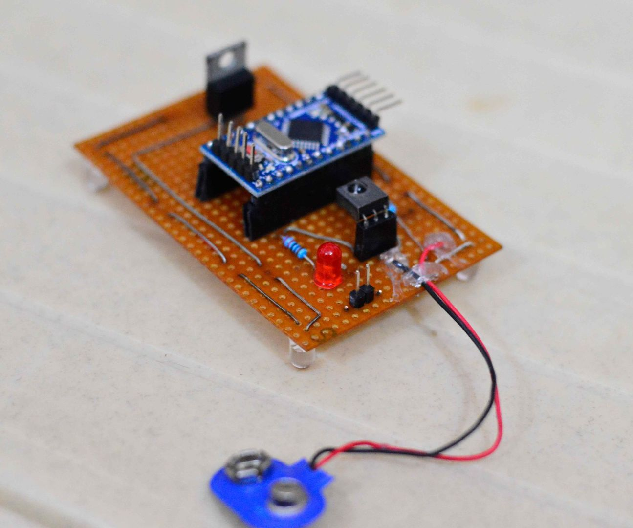 Arduino based remote translator